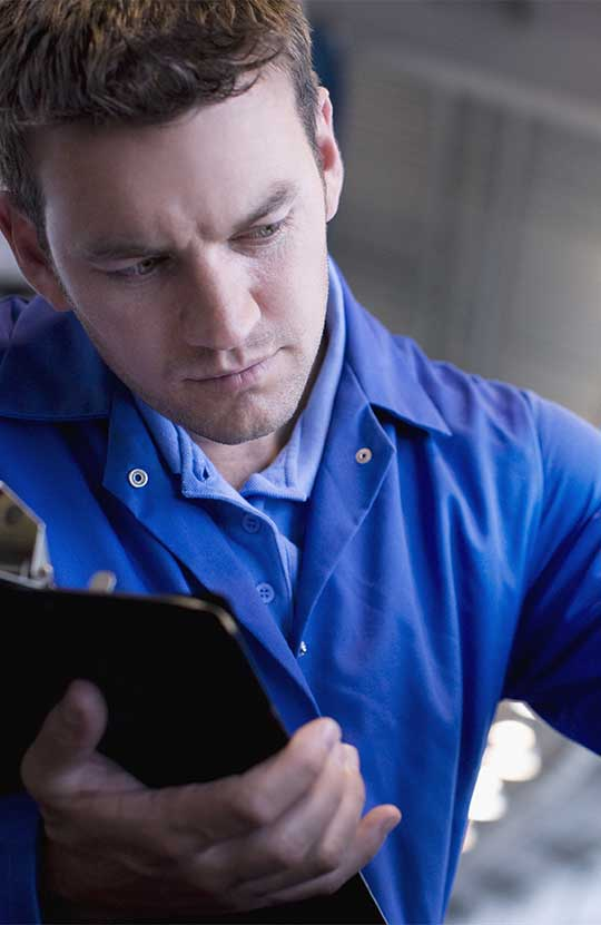 Réparation et diagnostic de matériel hydraulique